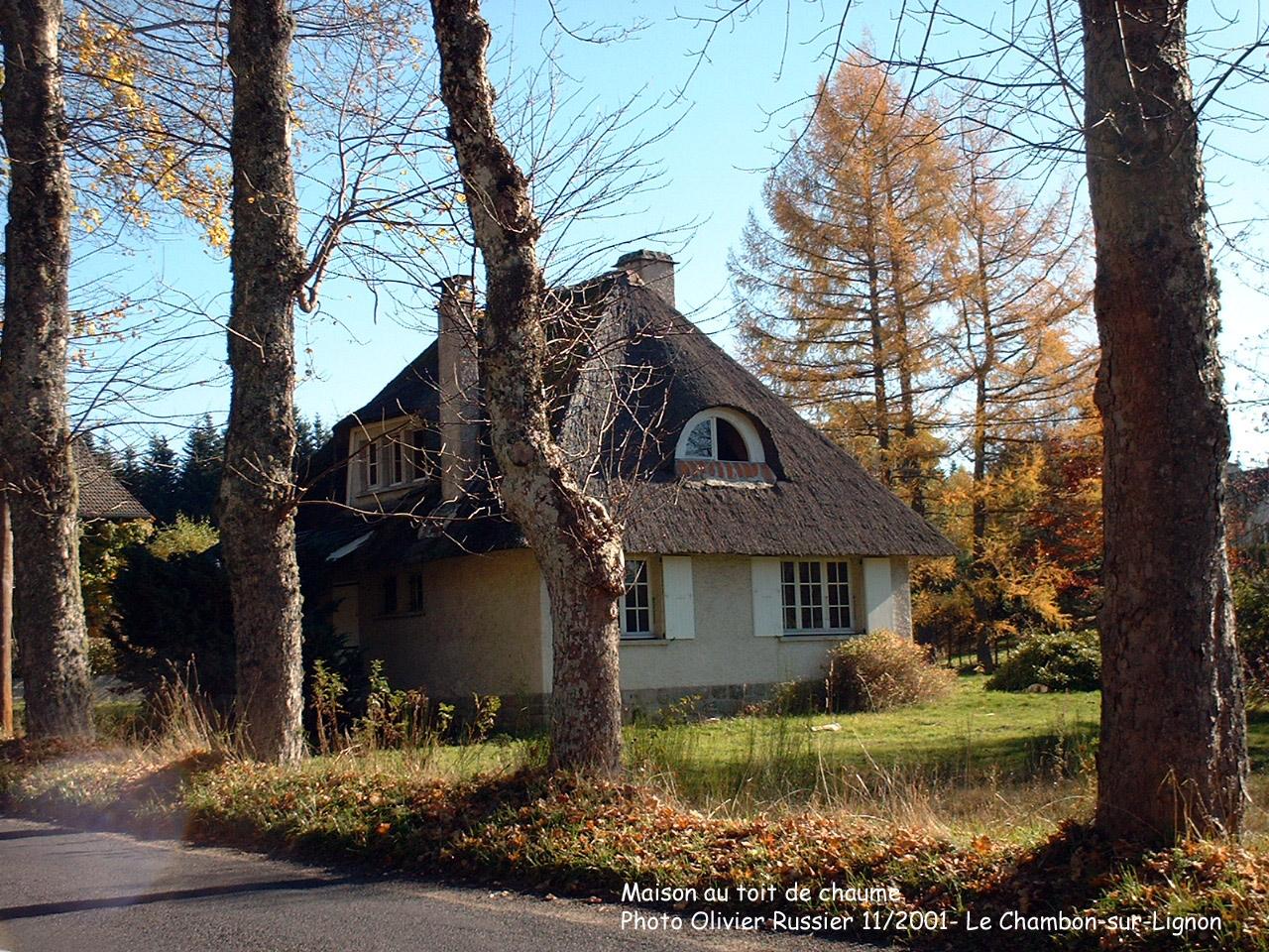 photos du chambon sur lignon With maison toit de chaume 12 photos du chambon sur lignon